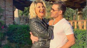O cantor Eduardo Costa e a atriz Antonia Fontenelle (Foto: Reprodução)