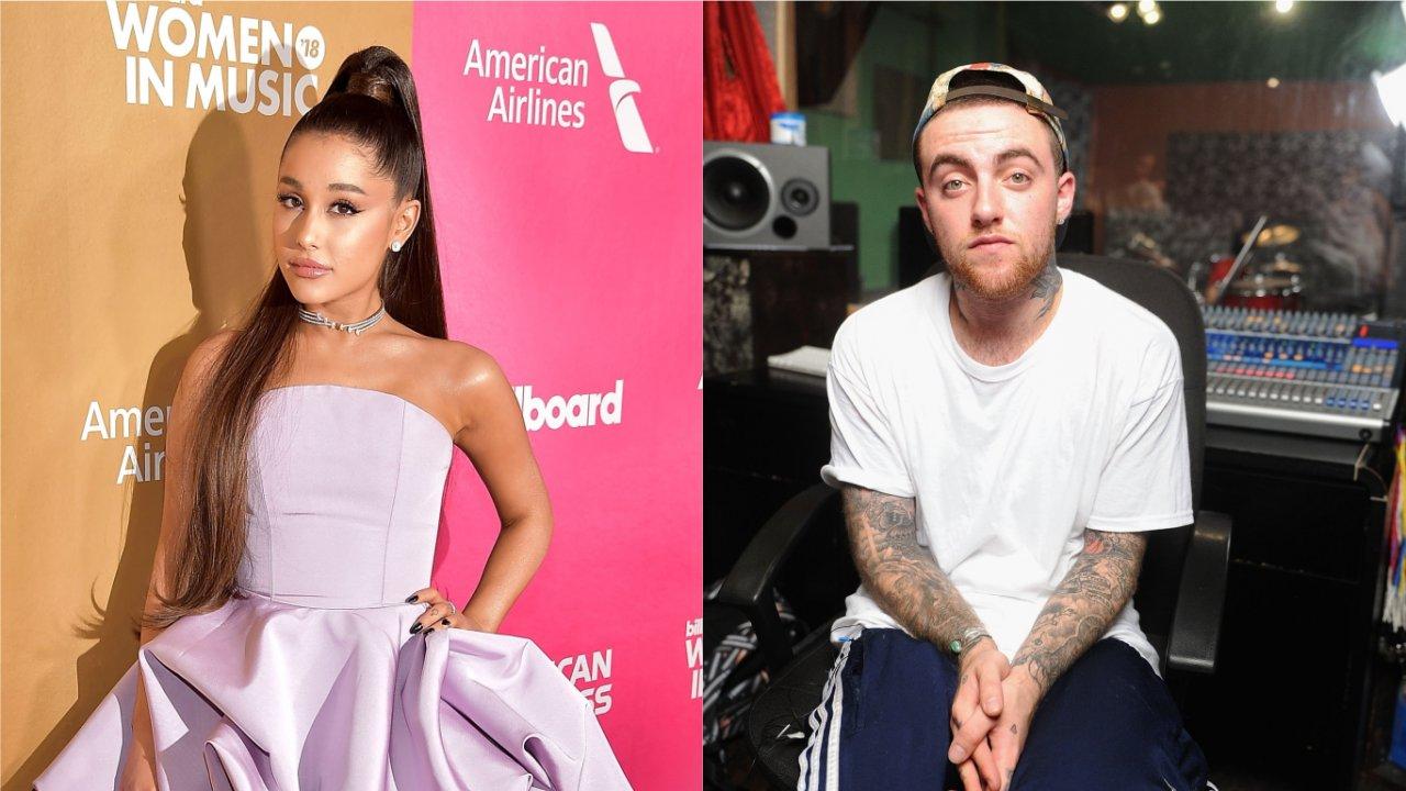 Ariana Grande e Mac Miller (Foto: Reprodução)