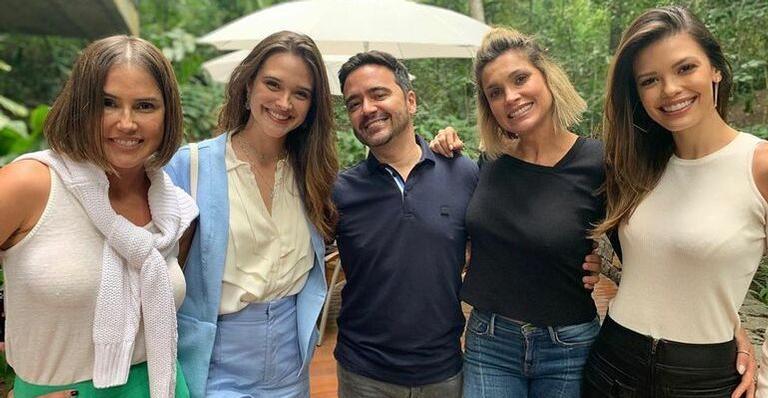 Globo inicia trabalhos para próxima novela das sete e elenco de Salve-se Quem Puder se reúne (Foto: Divulgação)