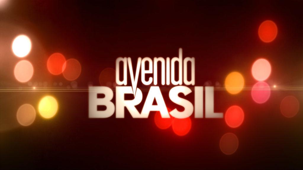 Logo da novela Avenida Brasil (Imagem: Divulgação/Globo)