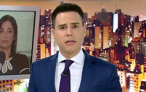 Luiz Bacci é acusado de sensacionalismo por Carlinhos Record (Foto: Reprodução)