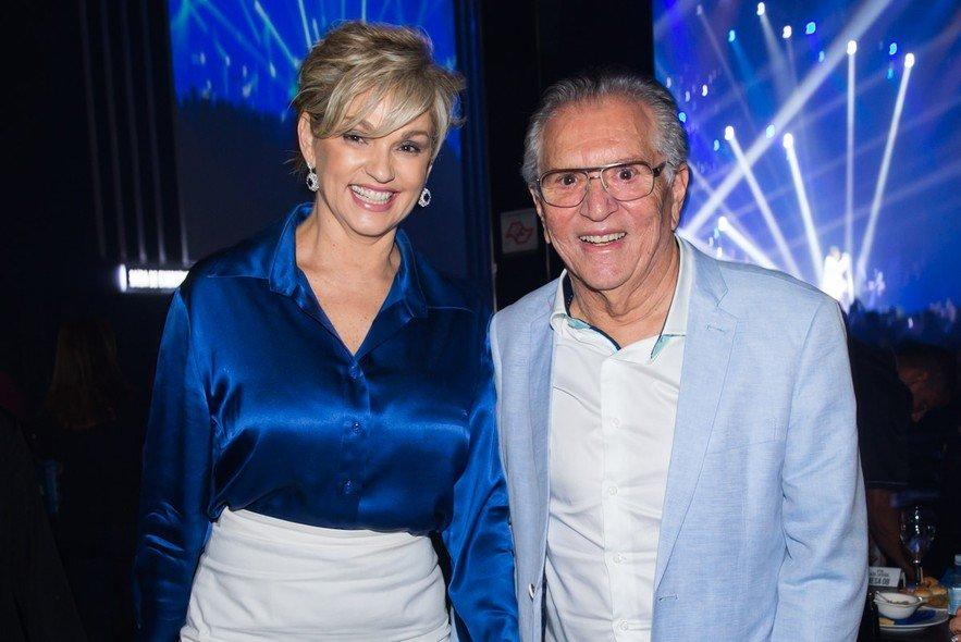 O famoso apresentador do SBT, Carlos Alberto de Nóbrega e Andréa Nóbrega se separaram em 2016 (Foto: Reprodução)