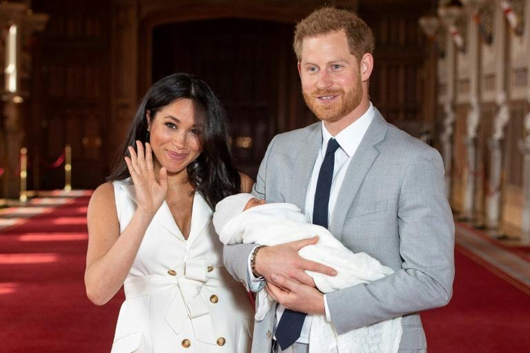 Príncipe Harry, Meghan Markle e Archie (Foto: Reprodução)