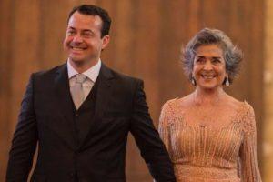 Daniel e Betty Faria. Foto: Reprodução