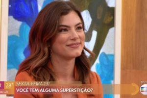 Bruna Hamu foi convidada por Fátima para ir ao Encontro
