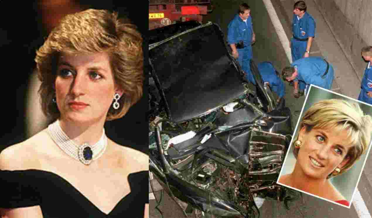 A princesa Diana morreu em um acidente de carro durante uma perseguição dos paparazzis (Foto: Reprodução)