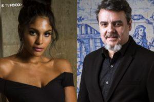 Cassio Gabus Mendes e Barbara Reis serão um casal em Éramos Seis