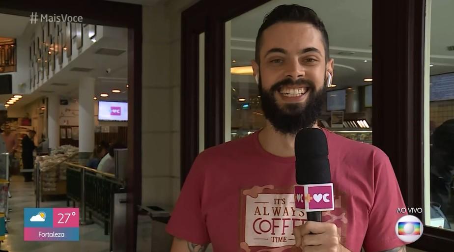Repórter da Globo esclarece falsa notícia sobre aplicativo de relacionamentos e faz pedido (Foto: Reprodução)
