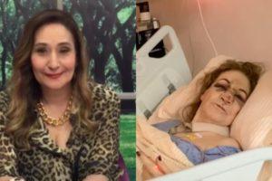 Mãe de Sonia Abrão sofre grave acidente