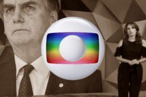 Bolsonaro virou deboche novamente na tela da Globo (Foto: Reprodução)