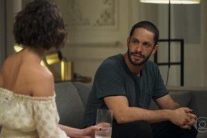 Josiane e Téo em cena da novela A Dona do Pedaço (Foto: Reprodução)