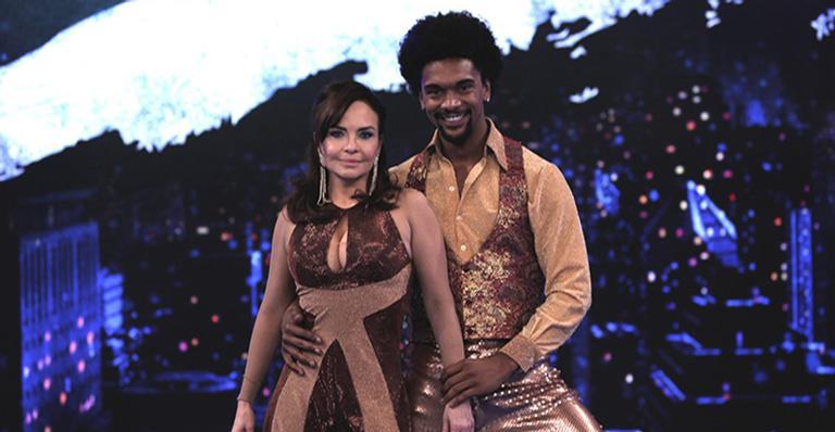 Luiza Tomé na Dança dos Famosos na Globo. Foto: Reprodução