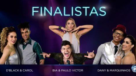Finalistas do Dancing Brasil (Foto: Reprodução)
