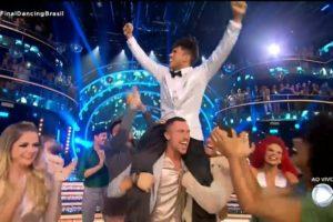 vence o Dancing Brasil 5 (Foto: Reprodução)
