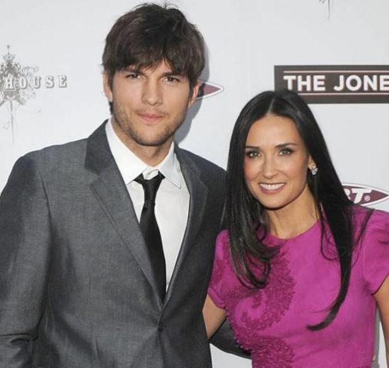 Ashton Kutcher e Demi Moore (Foto: Reprodução)