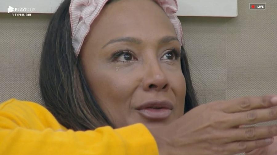 Drika teve briga feia com Andréa Nóbrega em A Fazenda 2019 (Foto: Divulgação)