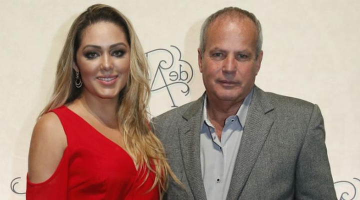 Tânia Mara ao lado do diretor Jayme Monjardim. (Foto: Divulgação)