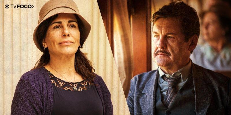 Gloria Pires e Antonio Calloni são o casal protagonista de Éramos Seis Globo