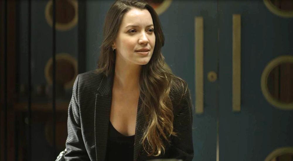 Fabiana em cena da novela das 21h da Globo, A Dona do Pedaço (Foto: Reprodução)