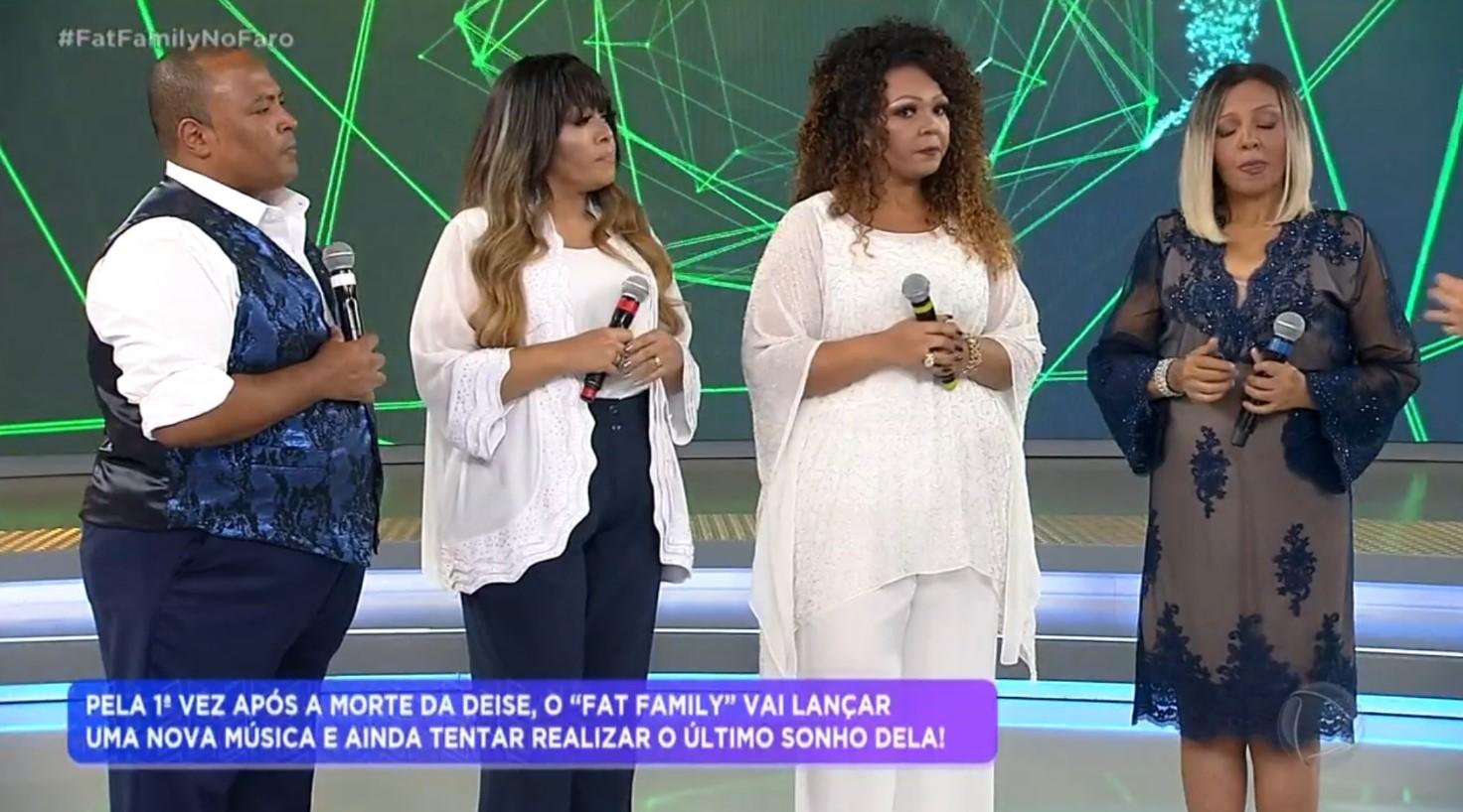 Rodrigo Faro relançou o grupo Fat Family meses após a morte de Deise Cipriano (Foto: Reprodução)