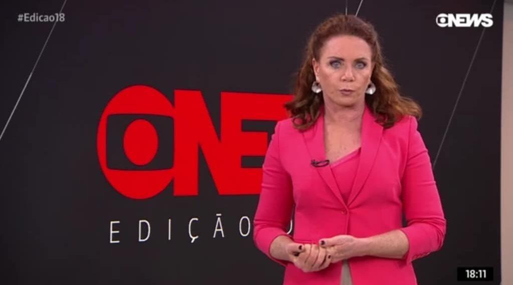 Leilane Neubarth é âncora da Globo News (Foto: Reprodução)
