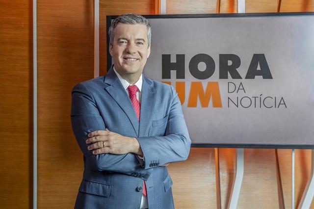 Roberto Kovalick é o apresentador do Hora Um (foto: divulgação/TV Globo)