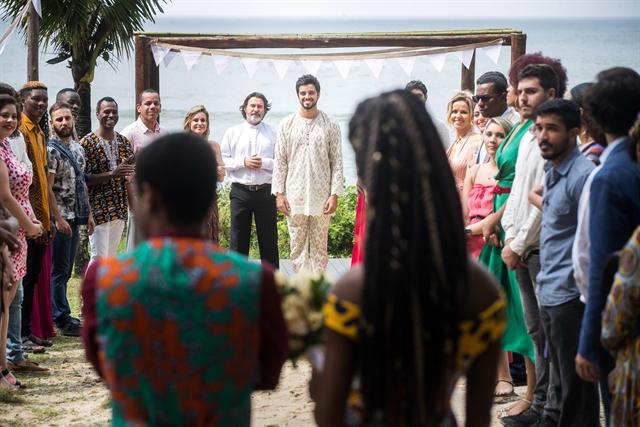 Casamento na novela das seis (Foto: Globo/Raquel Cunha)