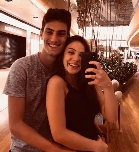Giovanna Rispoli e seu namorado, Felipe Tupinambá (Foto: Reprodução/ Instagram)