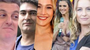 Apresentadores da Globo entram em lista demissões (Foto montagem: TV Foco)