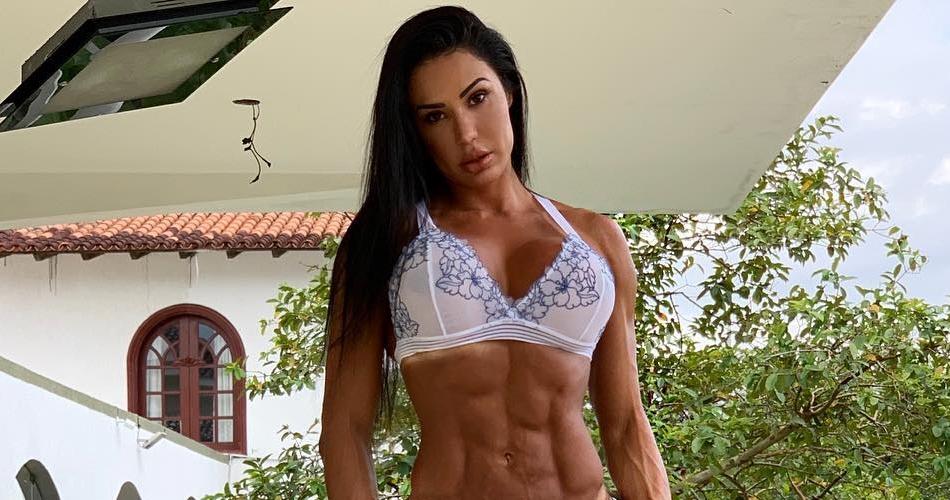 A mulher do cantor Belo, Gracyanne Barbosa