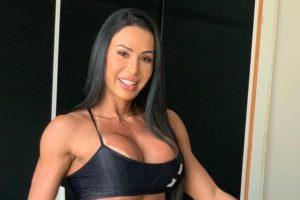 A esposa do cantor Belo, Gracyanne Barbosa (Foto: Reprodução)
