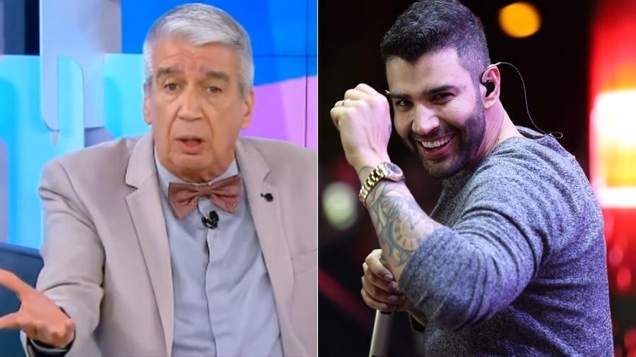Décio Peccinini critica Gusttavo Lima e cantor rebate acusações. Foto: Reprodução
