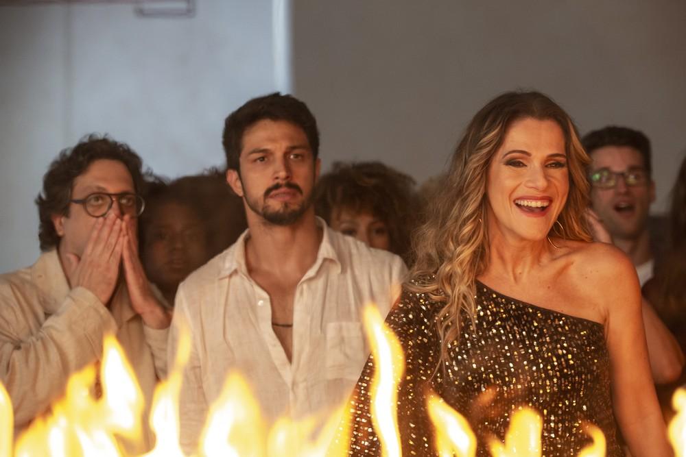 Marcos e Silvana em cena da novela das 19h, Bom Sucesso (Foto: Reprodução)