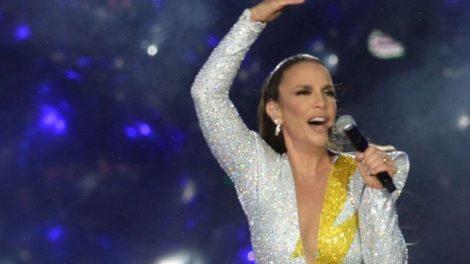 A cantora Ivete Sangalo polemizou durante o Rock in Rio (Foto: Reprodução)