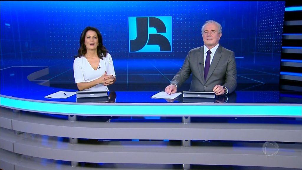 Jornal da Record recebe investimento alto e ganha novo cenário (Foto: Reprodução)