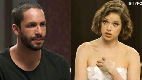 Jô fica indignada por ser cobrada por Teo em A Dona do Pedaço da Globo