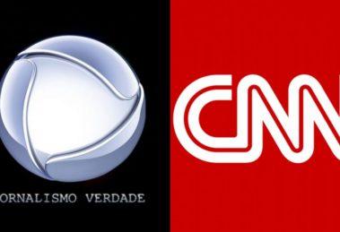 Record parte para cima da CNN Brasil (Foto: Reprodução)
