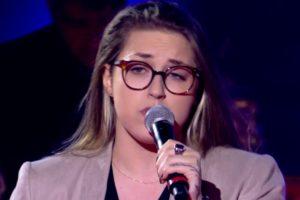Luana Berti no The Voice Brasil (Foto: Reprodução)