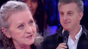 Luciano Huck volta a receber senhora que o afrontou e chamou a atenção por fala no Caldeirão do Huck (Foto montagem: TV Foco)