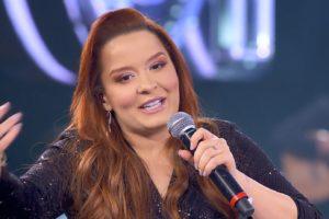 A cantora Maiara revelou um desejo, mas foi alertada por Maraisa (Foto: Reprodução)