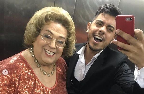 Mamma Bruschetta e seu namorado Lucas Feitosa (Imagem Reprodução)