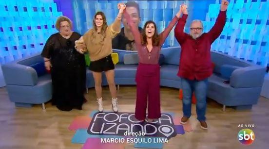 A apresentadora Mara Maraivlha se despediu do Fofocalizando nesta segunda-feira, 02 de setembro (Foto: Divulgação)