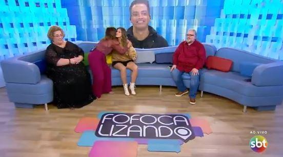 A apresentadora se despediu do Fofocalizando nesta segunda-feira, 02 de setembro (Foto: Divulgação)