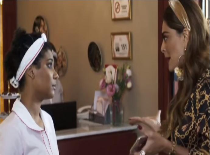 Jenifer e Maria da Paz em A Dona do Pedaço (Foto: Reprodução/ Globo)