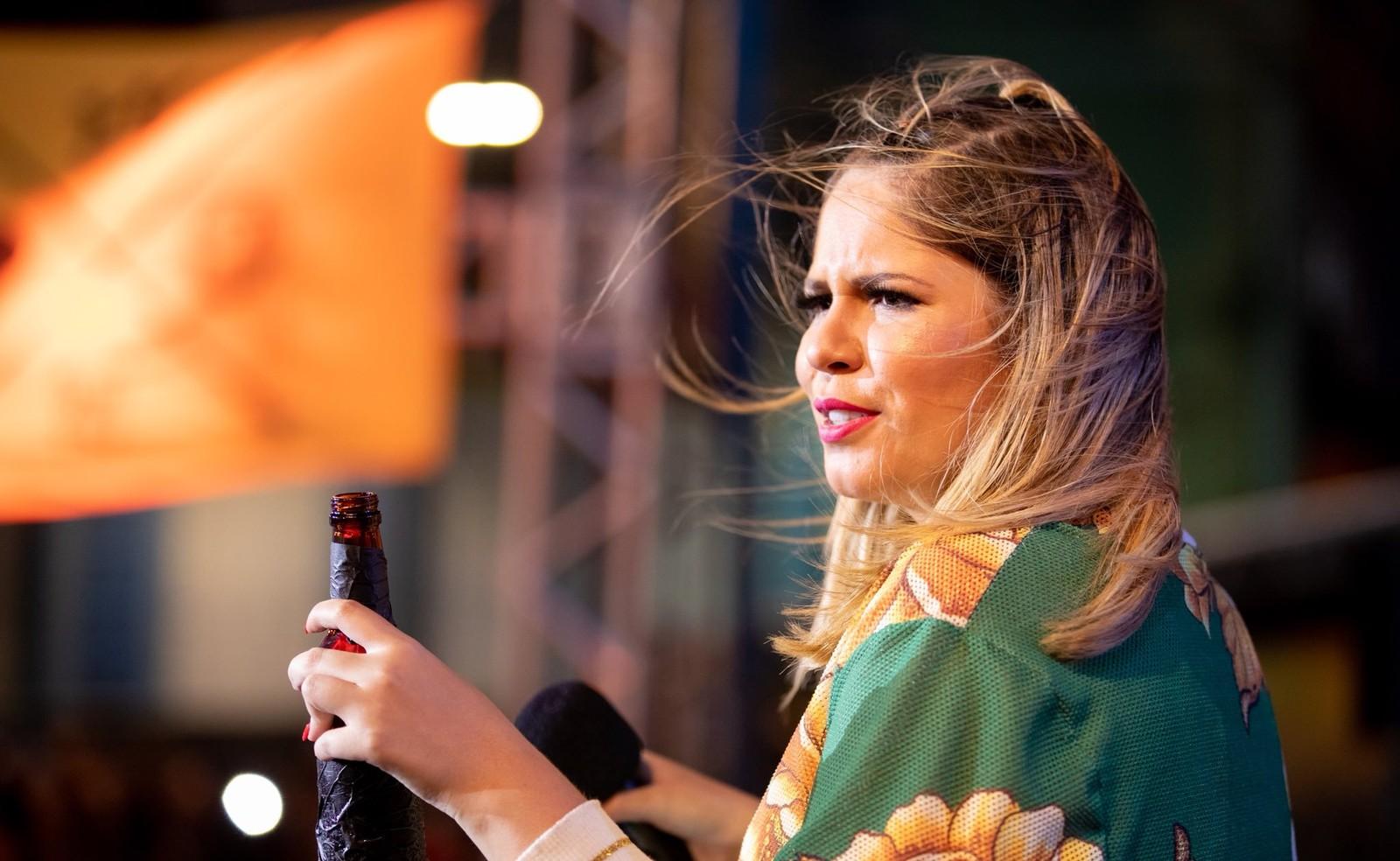 A cantora Marília Mendonça mencionou as músicas sobre amantes (Foto: Reprodução)
