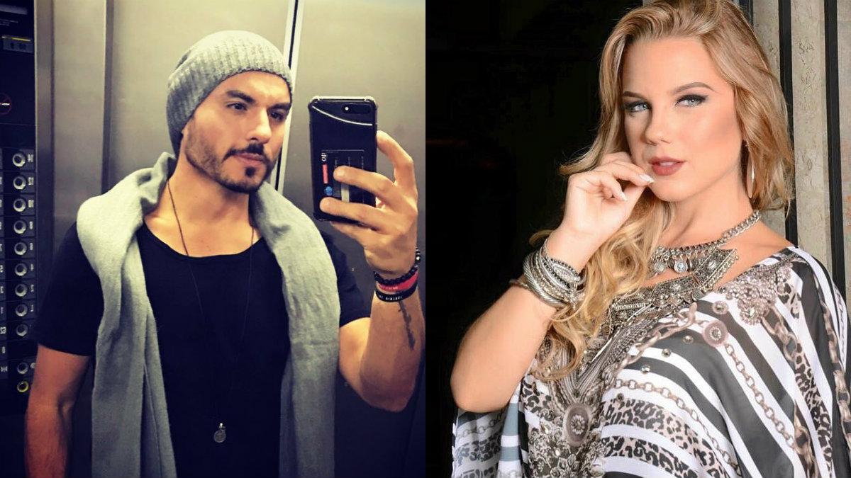 Carlinhos Silva, ex de Sabrina Sato, e Aline Hauck (Foto: Reprodução)