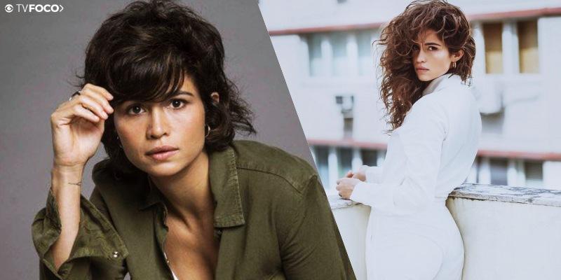 A atriz Nanda Costa fez sua transformação para a novela Amor de Mãe