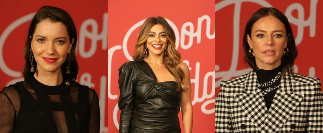 Nathalia Dill, Juliana Paes e Paola Oliveira protagonizaram A Dona do Pedaço. Foto: Reprodução