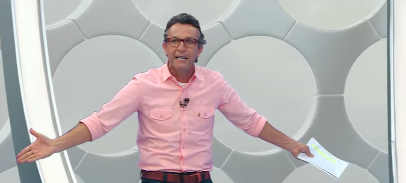 Neto soltou o verbo contra o apresentador Felipe Andreoli, da Globo. (Foto: Reprodução)