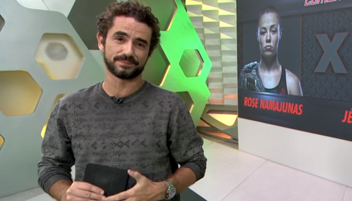 Felipe Andreoli virou alvo do apresentador Neto em programa da Band. (Foto: Reprodução)
